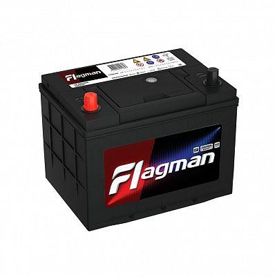 Автомобильный аккумулятор Flagman 70B24R (55) фото 401x401