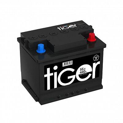 Автомобильный аккумулятор Tiger Аком 55.0 обр. фото 401x401