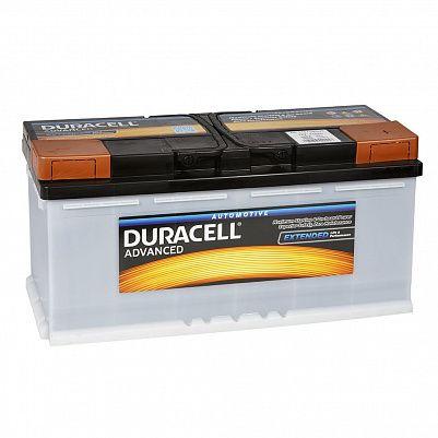 Автомобильный аккумулятор Duracell 110.0 (DA 110) фото 401x401