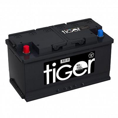 Автомобильный аккумулятор Tiger Аком 90.1 пр. фото 401x401