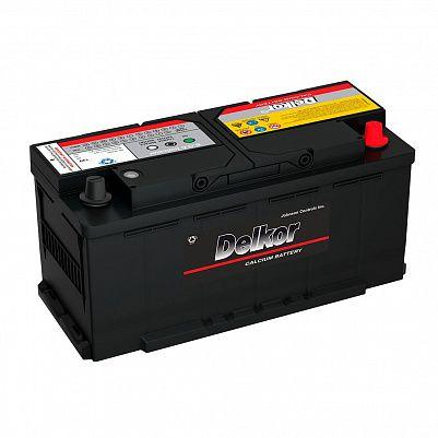 Автомобильный аккумулятор DELKOR Euro 110.0 L6 (61038) фото 401x401
