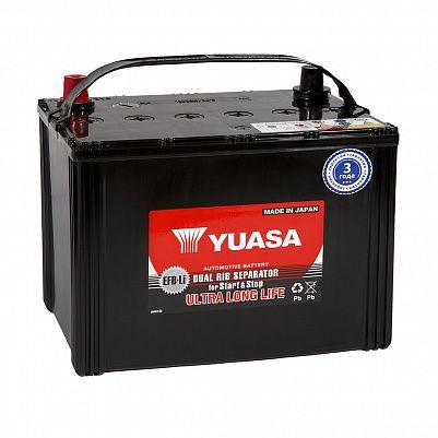 Автомобильный аккумулятор YUASA EFB 110D26L 74Ah фото 401x401