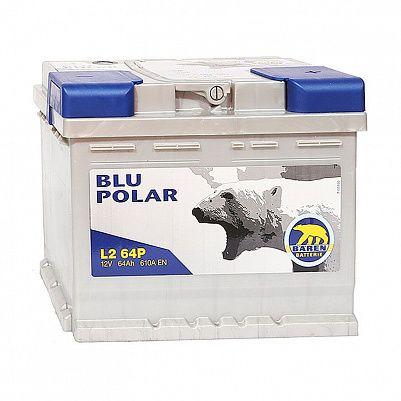 Автомобильный аккумулятор Baren Polar Blu 64.1 L2 фото 401x401
