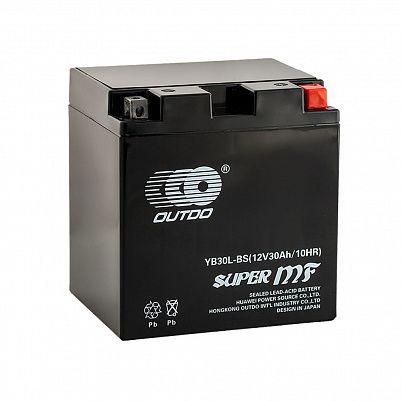 Мото аккумулятор 30Ah OUTDO YB30L-BS GEL (34Ah) фото 401x401