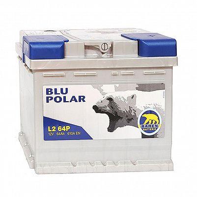 Автомобильный аккумулятор Baren Polar Blu 64.0 L2 фото 401x401