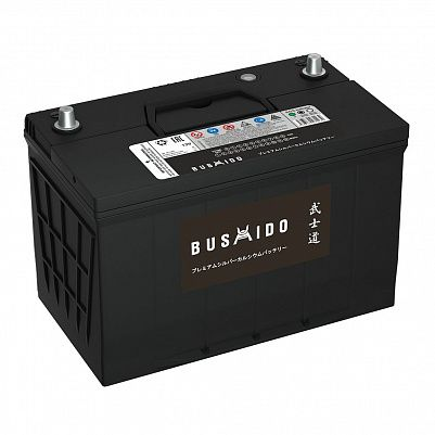 Автомобильный аккумулятор BUSHIDO 115D31L (100) фото 401x401