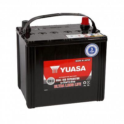Автомобильный аккумулятор YUASA EFB 95D23R (66) фото 401x401